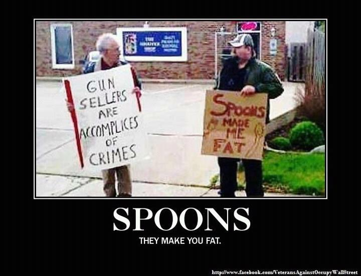 Spoons Made Me Fat