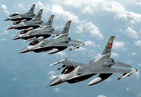 F-16 Fighter Jets Foreign Aid to Egypt