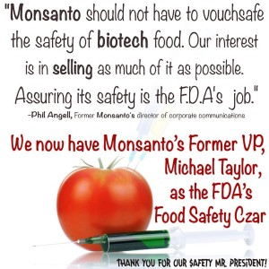 monsanto GMO FDA Food Safety