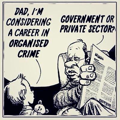 government is organized crime