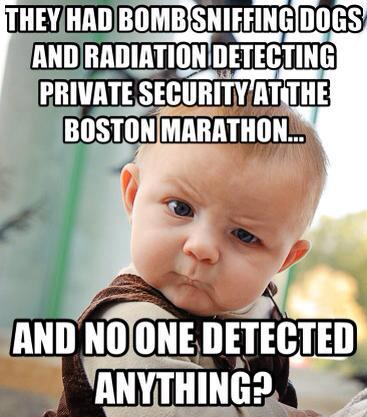 boston marathon bomb sniffing detection