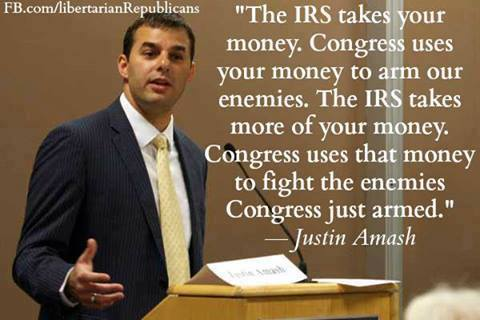 Irs takes your money, congress uses it to arm your enemies then they use it to fight the enemies they armed