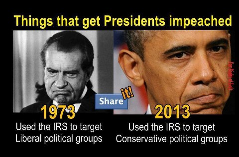 Irs used to target people who disagree with the president