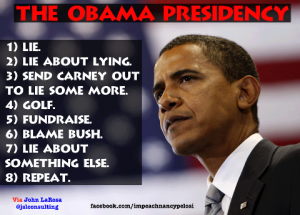 Obama Lies about lying