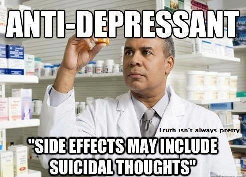 anti depressants can cause suicidal thoughts