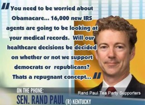 The IRS wants to target you, raid you and steal your stuff . why not put them in charge of your healthcare