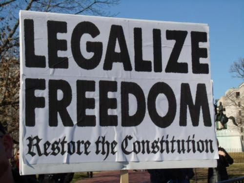 legalize freedom restore the constitution