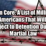 Main core is a list of millions of citizens to be detained during martial law