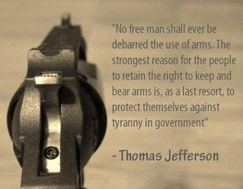 keep and bear arms tyranny of government