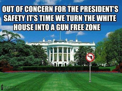white house gun free zone
